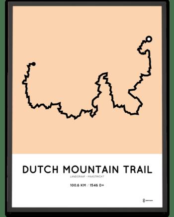 Dutch Mountain Trail Sportymaps route poster