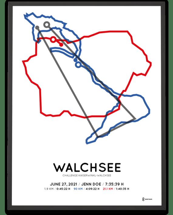 2021 Challenge Kaiserwinkl-Walchsee sportymaps print
