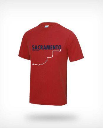 CIM Sportymaps running shirt men red