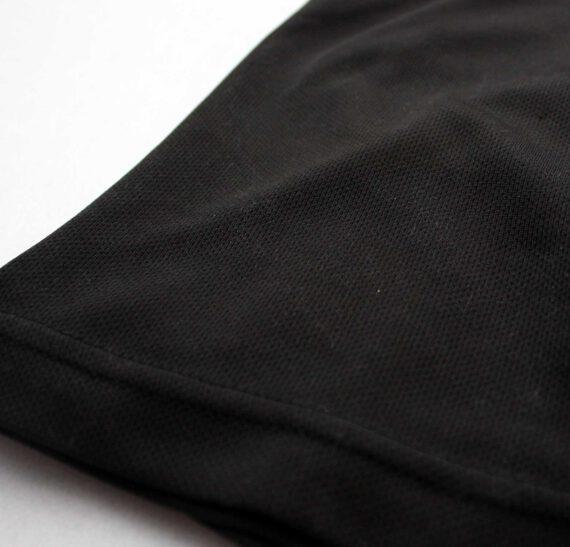 Example black Sportymaps running shirt