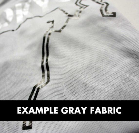 Example gray Sportymaps running shirt