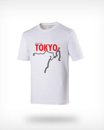 Tokyo Marathon Sportymaps running shirt men